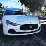 2016 Maserati Ghibli cars driving traffic gotinanaccident losangeles travel