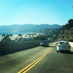 Cruisin in Sunny Santa Monica California cars driving traffic gotinanaccidenthellip