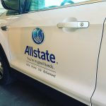The allstate peeps are in the house! Got in anhellip